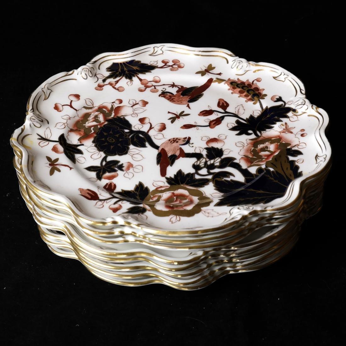 8 Coalport Porcelain Plates - 2