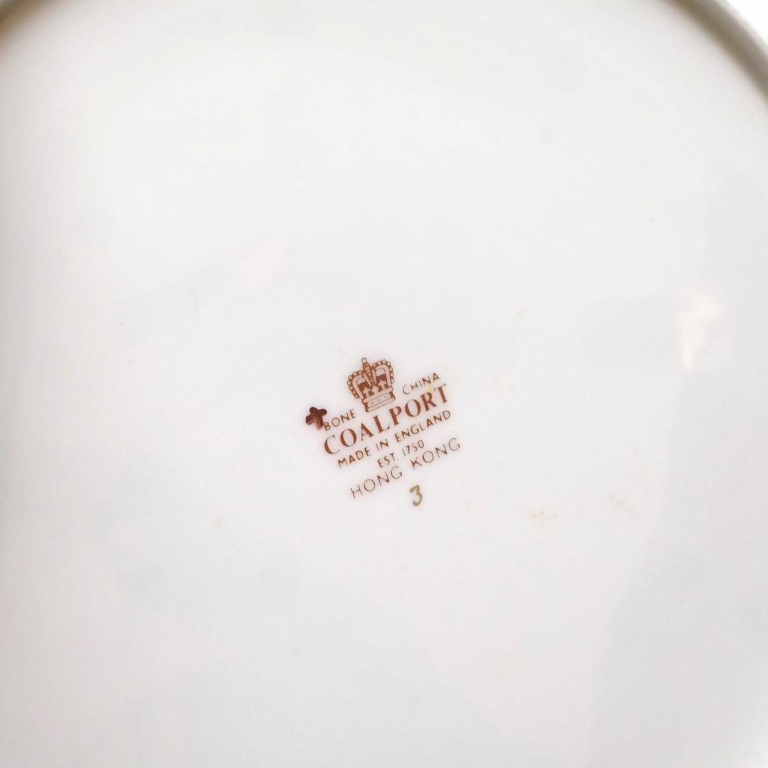 8 Coalport Porcelain Plates - 4