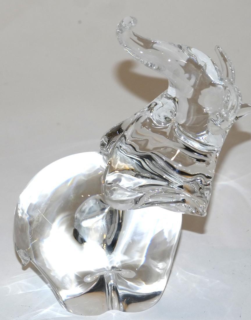 Steuben Glass Elephant - 3