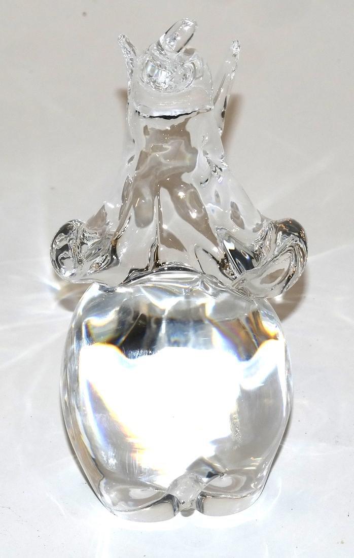 Steuben Glass Elephant - 4