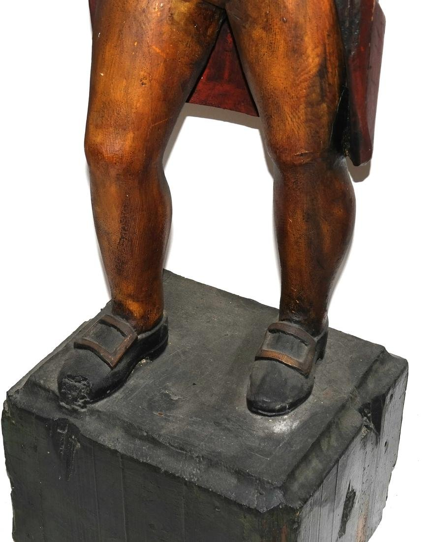 Carved and Decorated Figure - 3