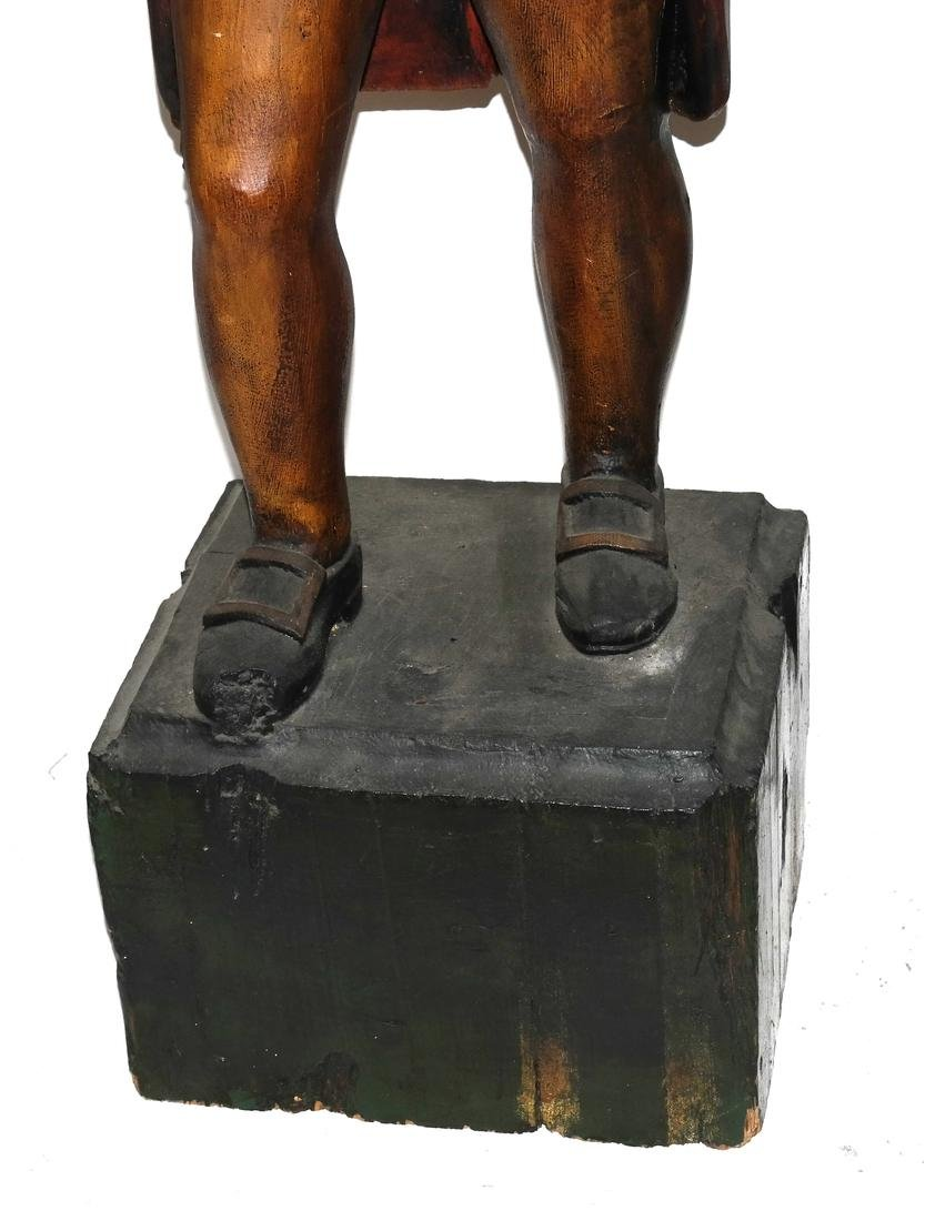 Carved and Decorated Figure - 4