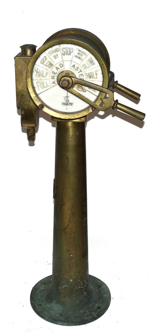 Ships Engine Order Telegraph