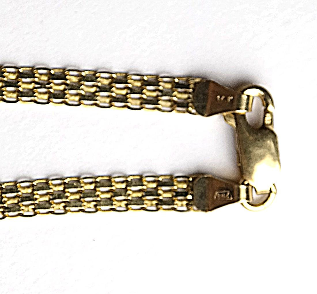 Five 14k Yellow Gold Chains - 4