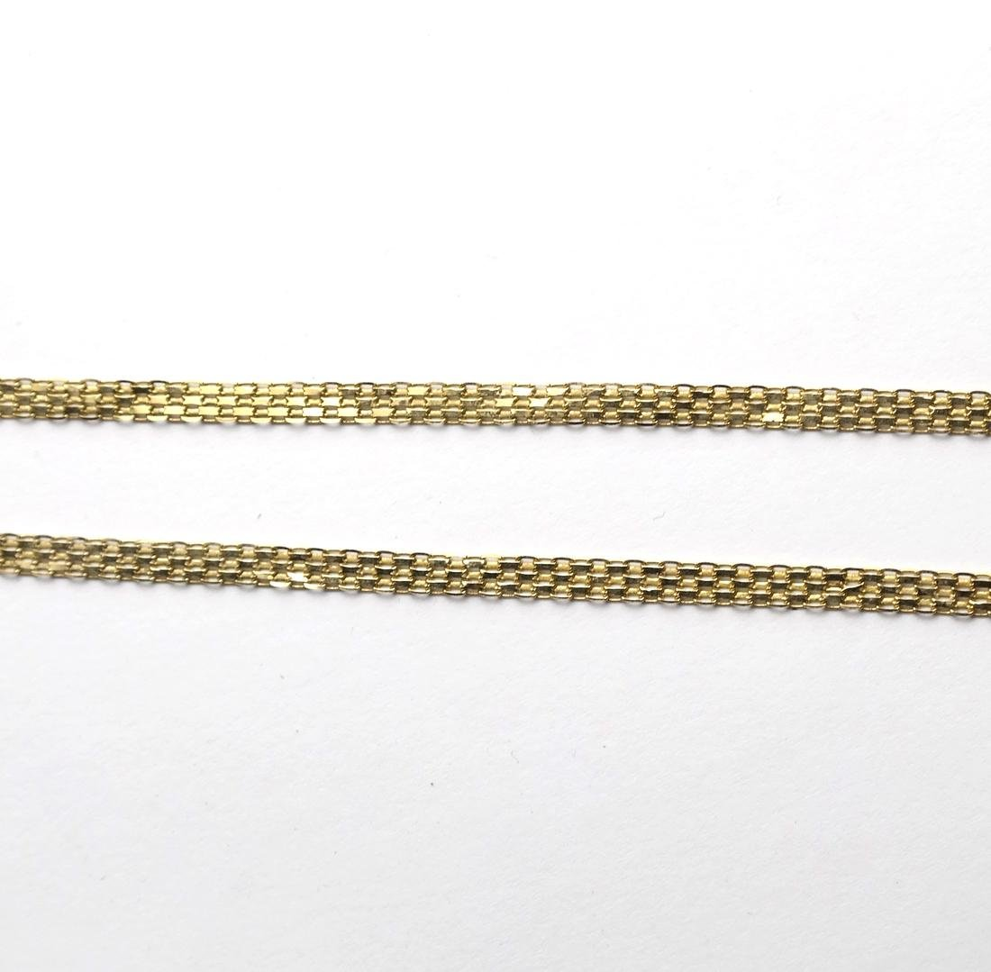 Five 14k Yellow Gold Chains - 6
