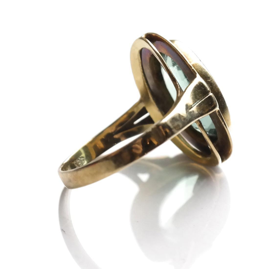 Art Deco Tourmaline Ring - 2