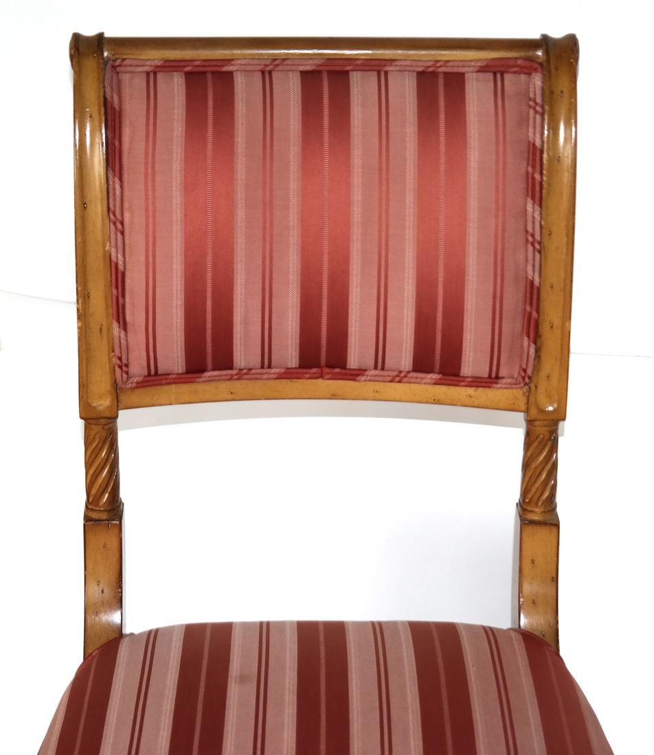 Set of Eight Regency-Style Dining Chairs - 3