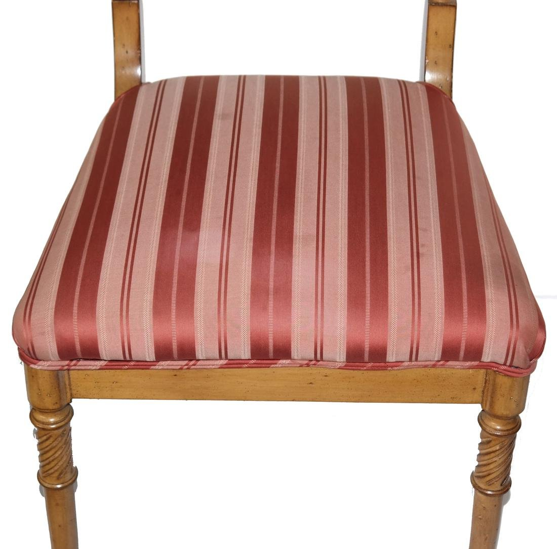 Set of Eight Regency-Style Dining Chairs - 4