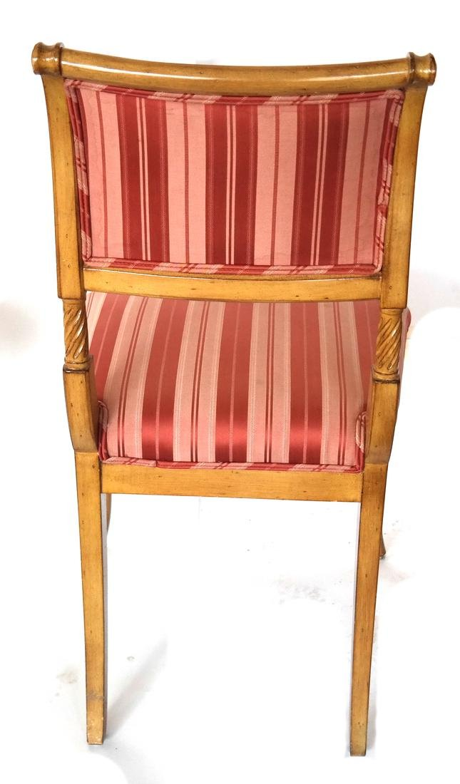 Set of Eight Regency-Style Dining Chairs - 5