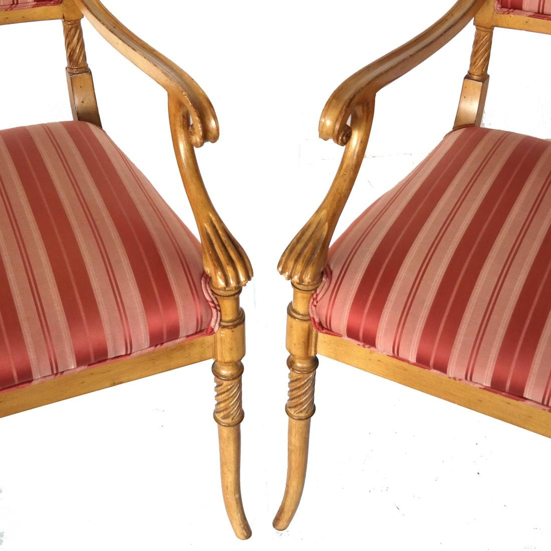 Set of Eight Regency-Style Dining Chairs - 7