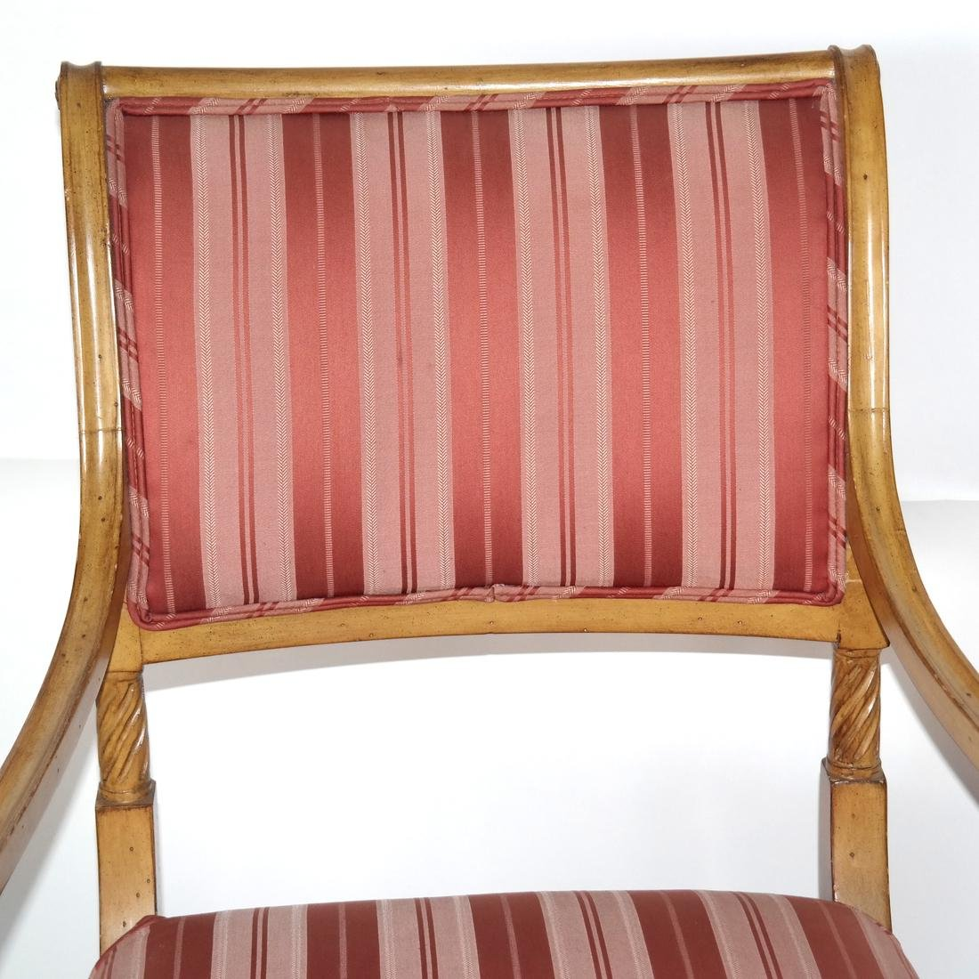 Set of Eight Regency-Style Dining Chairs - 8