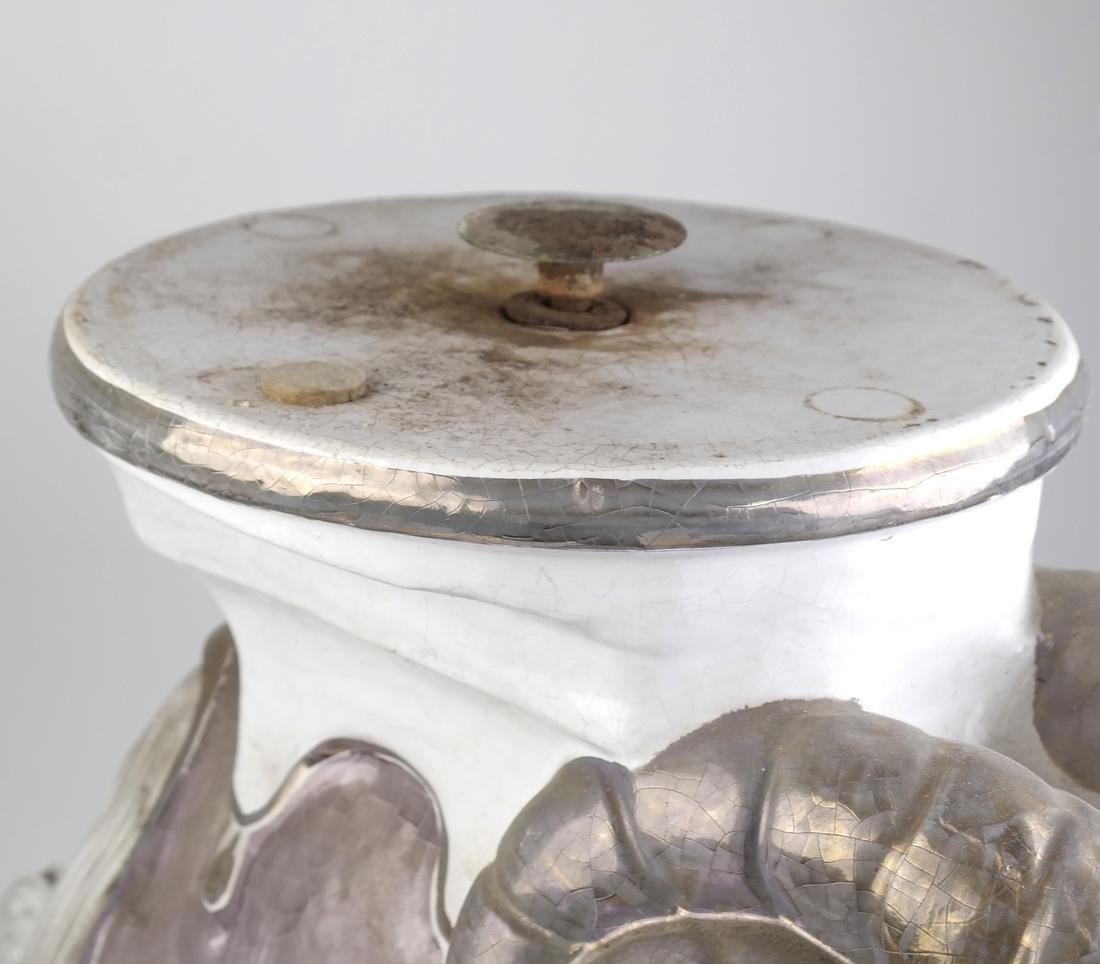 Ram-Form Ceramic Garden Seat - 3