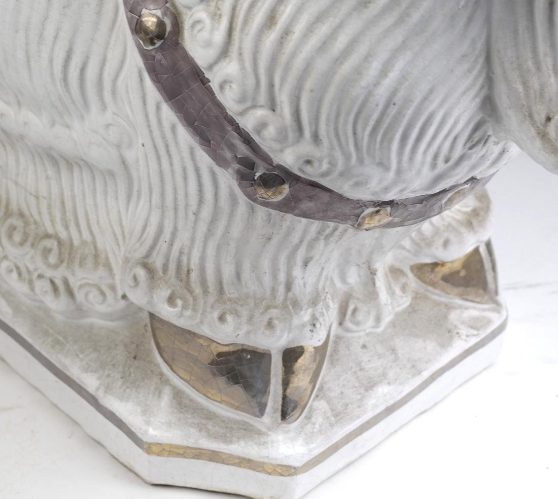 Ram-Form Ceramic Garden Seat - 4