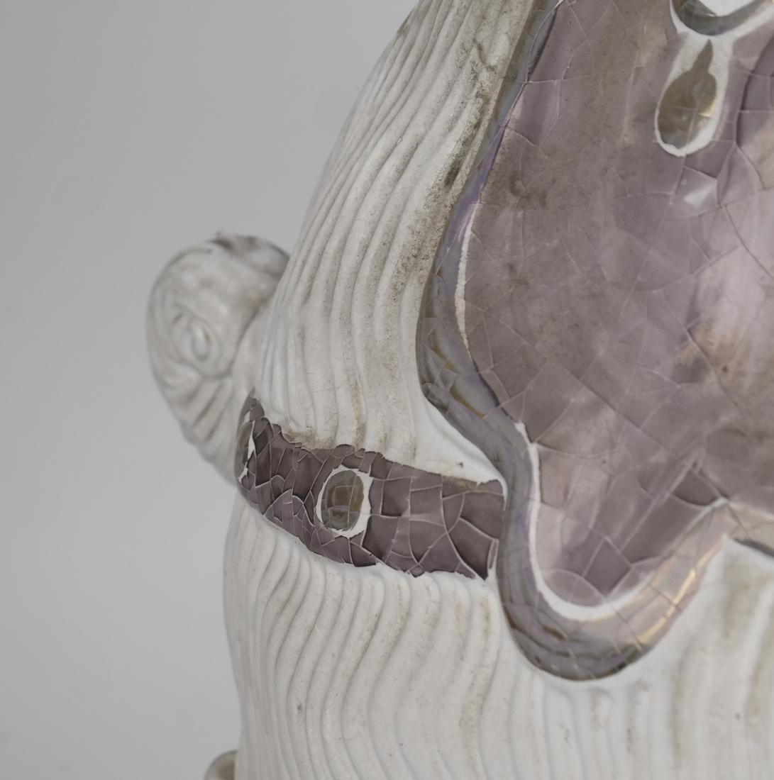 Ram-Form Ceramic Garden Seat - 6