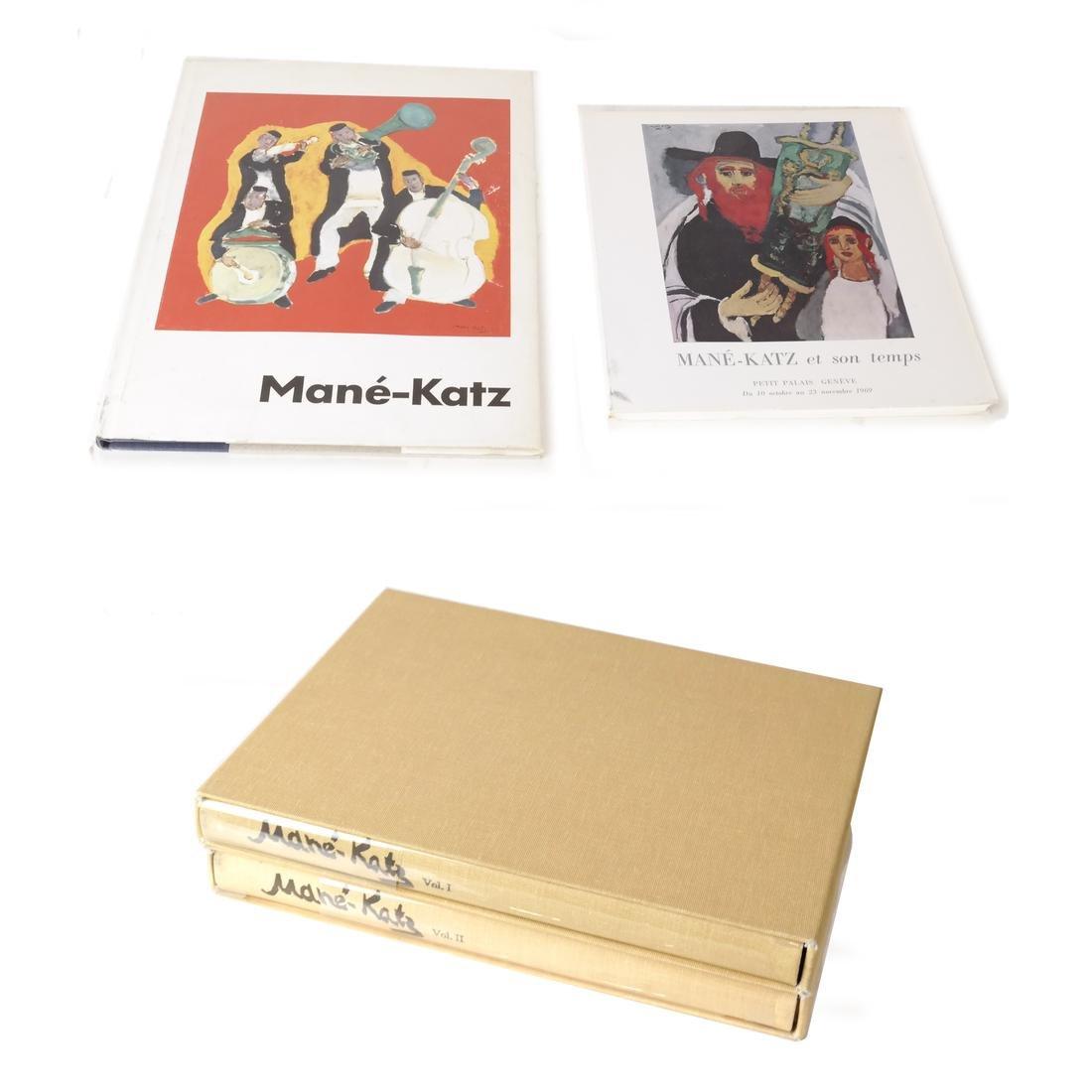 Four Mane-Katz Books