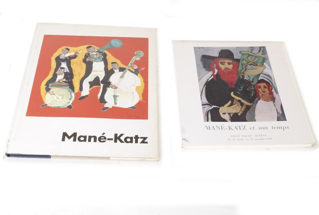 Four Mane-Katz Books - 2