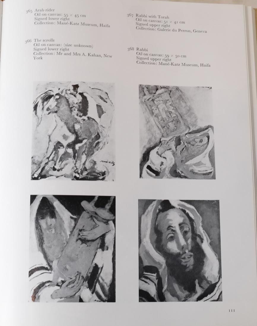 Four Mane-Katz Books - 6