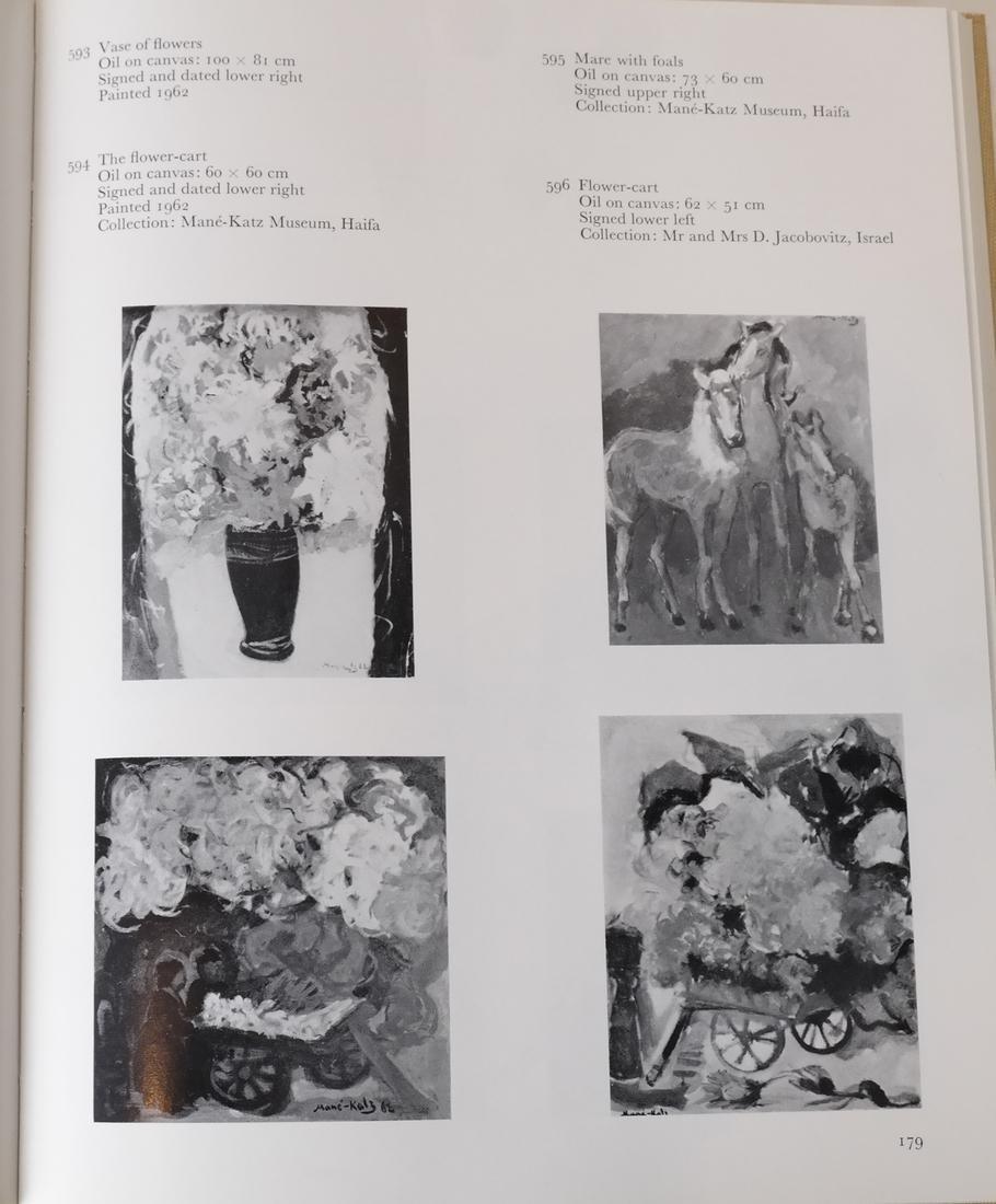 Four Mane-Katz Books - 7