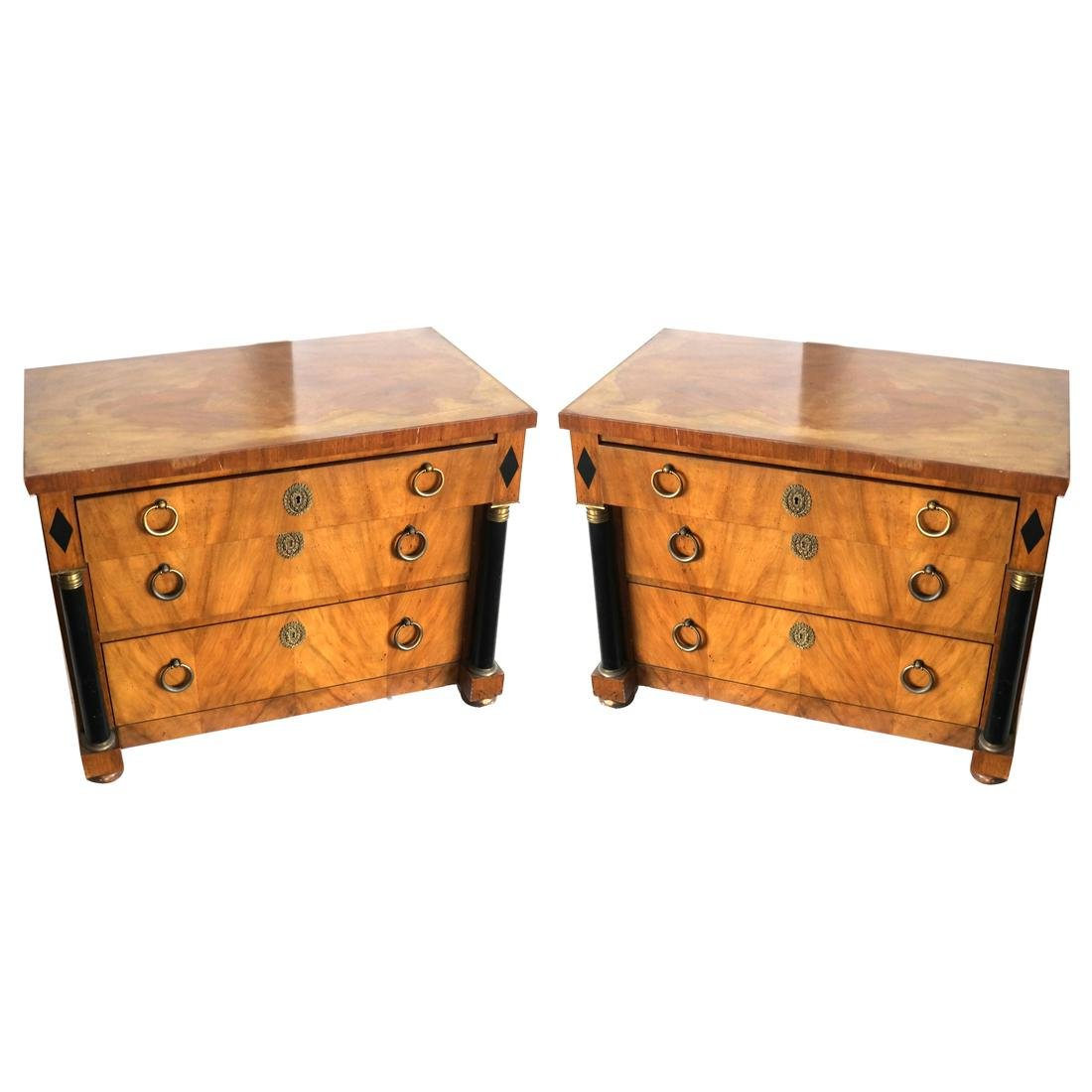 Pair of Directoire-Style Chests by Baker
