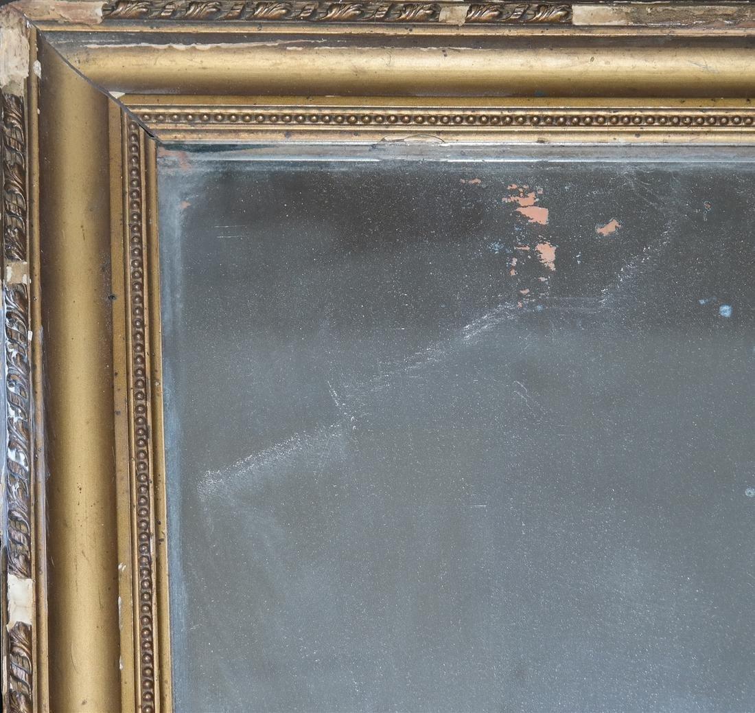 Antique Gilt Pier Mirror - 4
