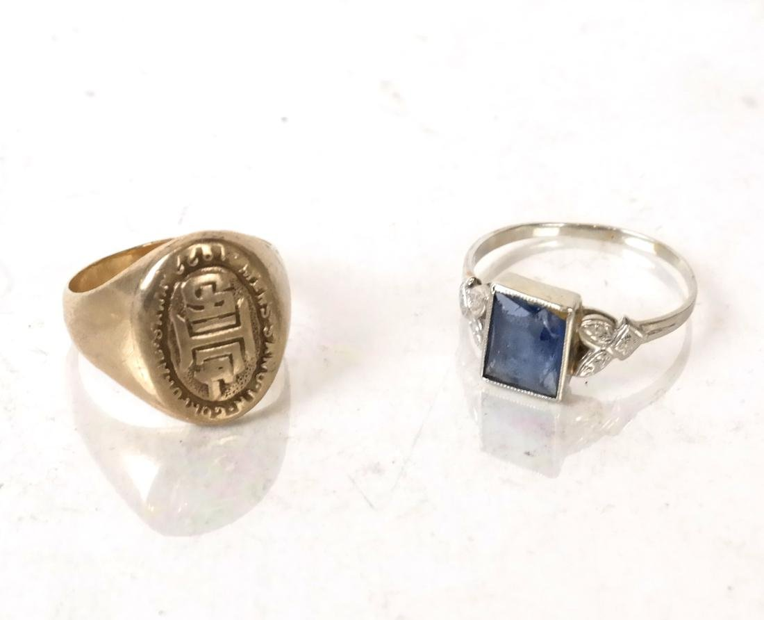 Assorted Jewelry; 14k Ring, 10k Ring, Silver, More - 5