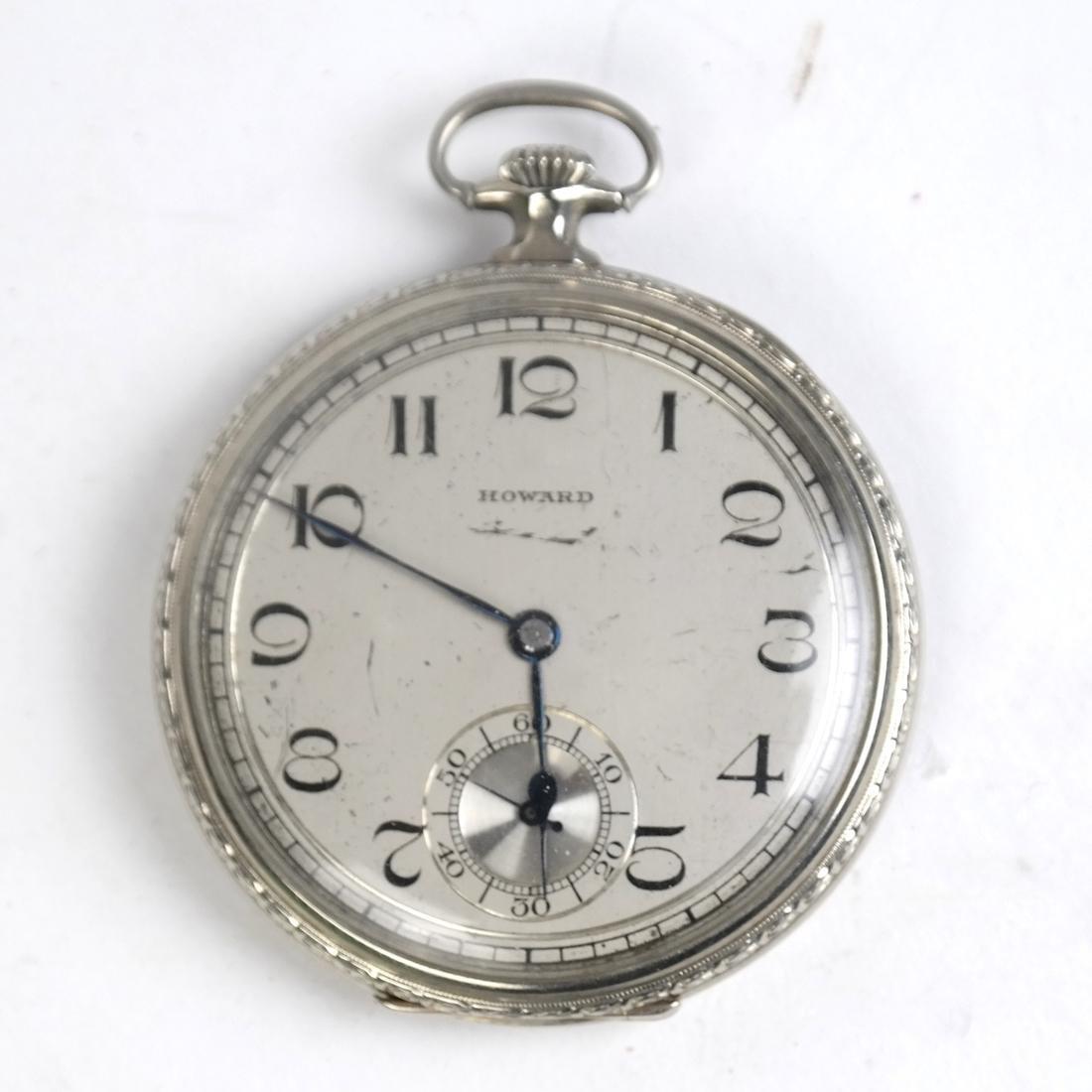 E. Howard & Co, 14k Pocket Watch - 2