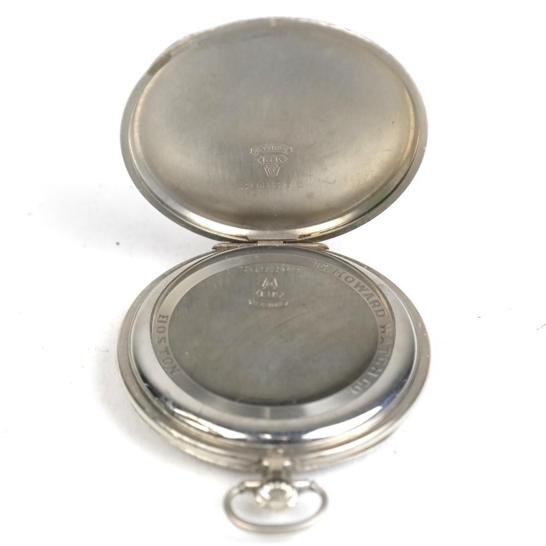E. Howard & Co, 14k Pocket Watch - 4