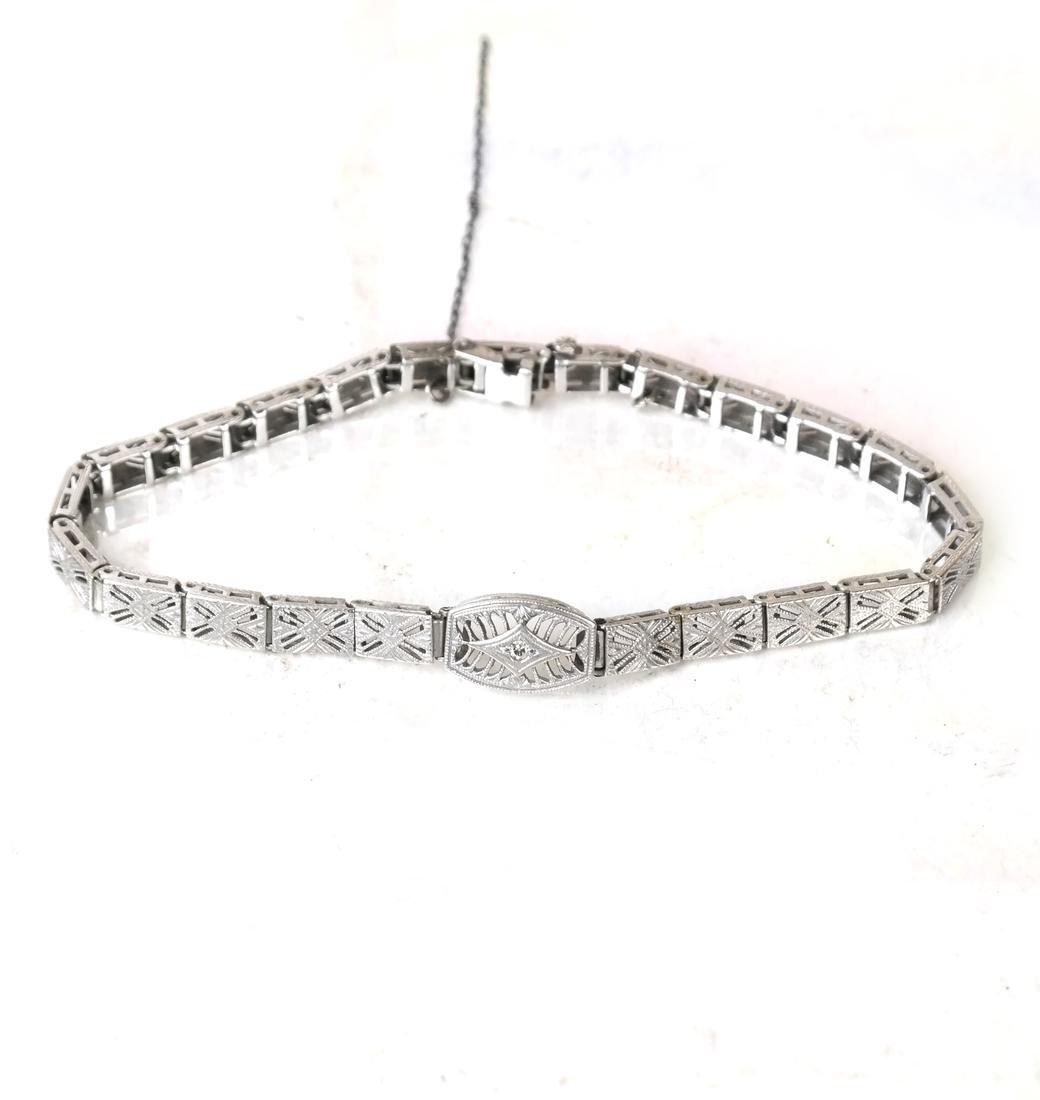 14k Art Deco Bracelet