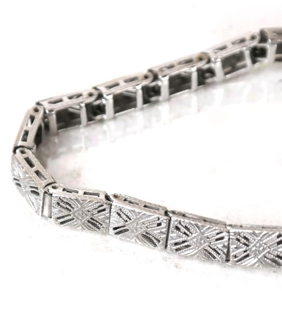 14k Art Deco Bracelet - 3