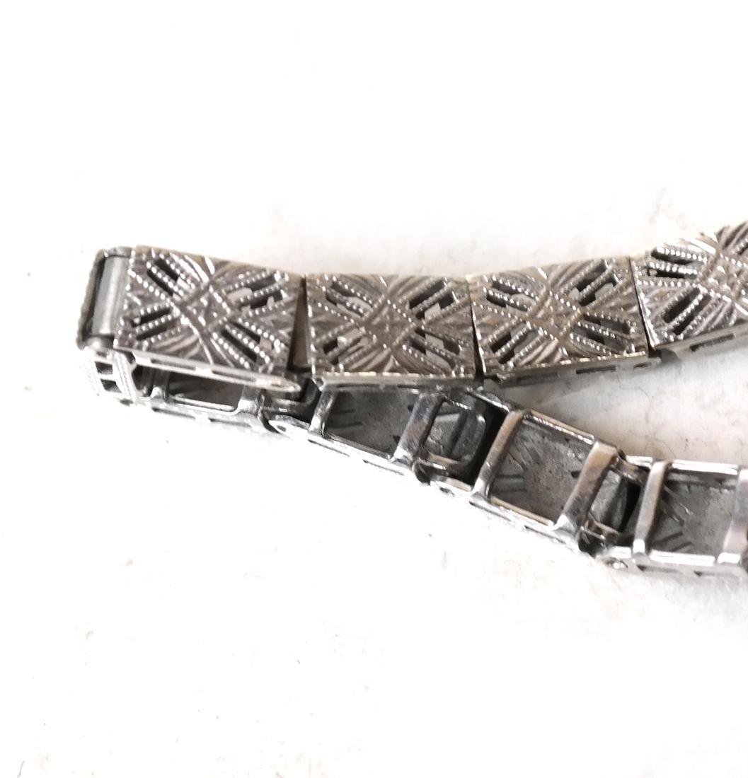 14k Art Deco Bracelet - 5