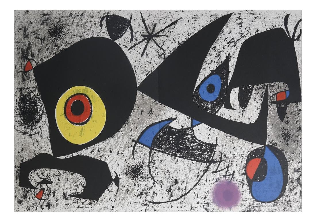 Joan Miro (1893-1983) 5 Lithographs - 2