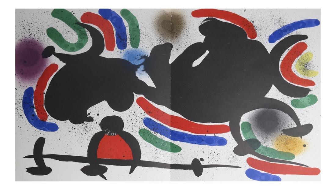 Joan Miro (1893-1983) 5 Lithographs - 3