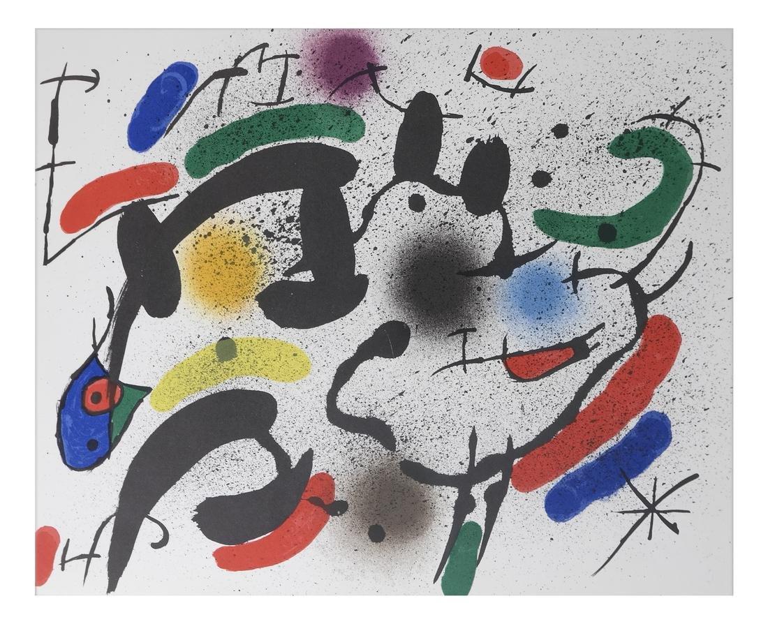 Joan Miro (1893-1983) 5 Lithographs - 4