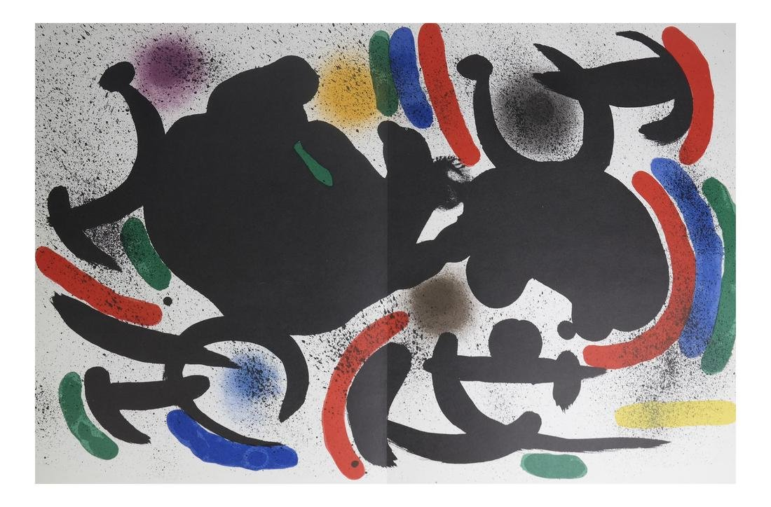 Joan Miro (1893-1983) 5 Lithographs - 5