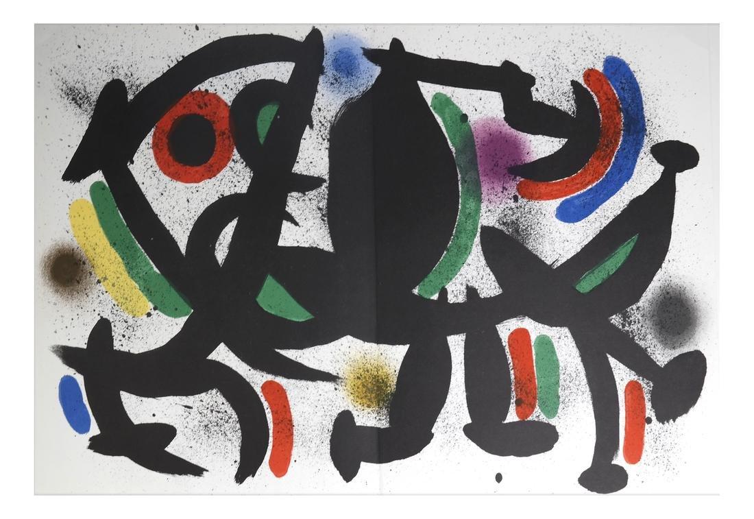 Joan Miro (1893-1983) 5 Lithographs - 6