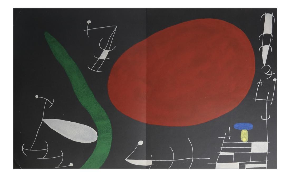 Joan Miro (1893-1983) 5 Lithographs - 7