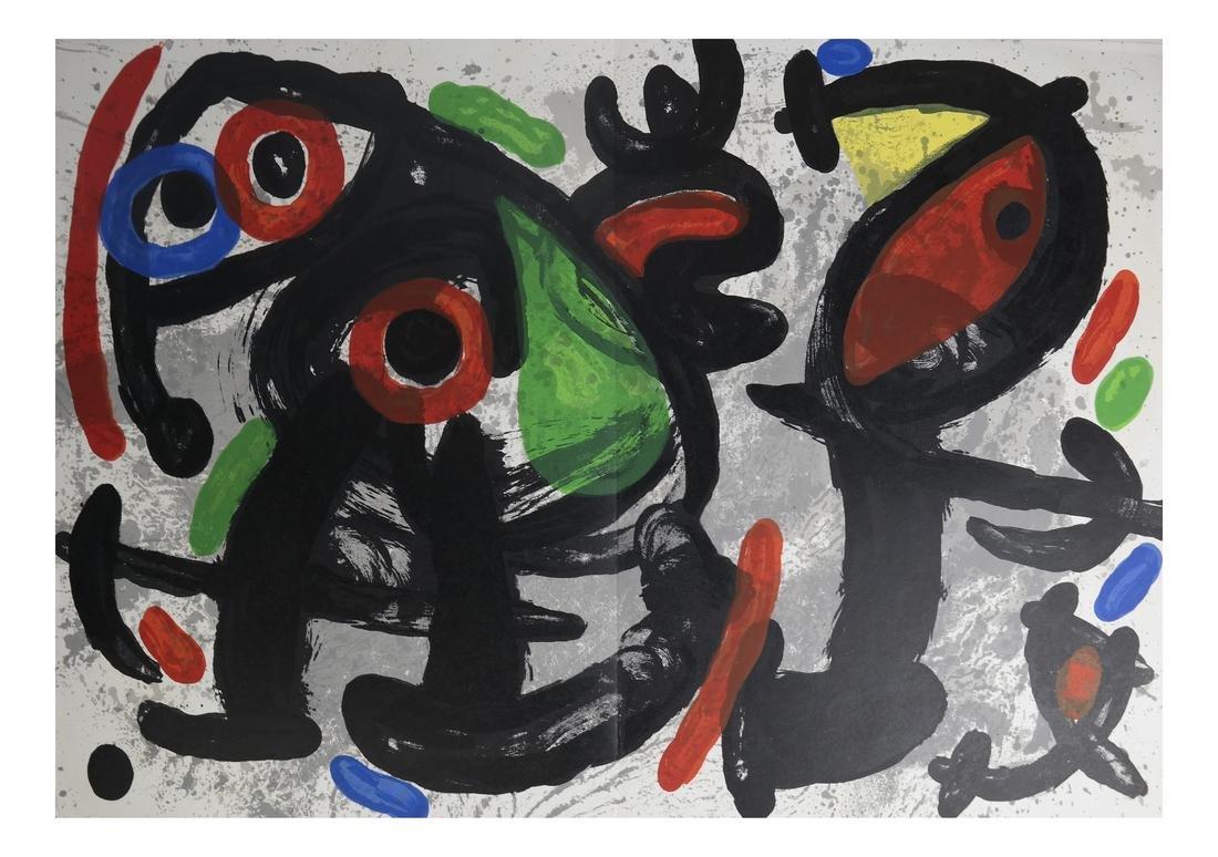 Joan Miro (1893-1983) 5 Lithographs - 8