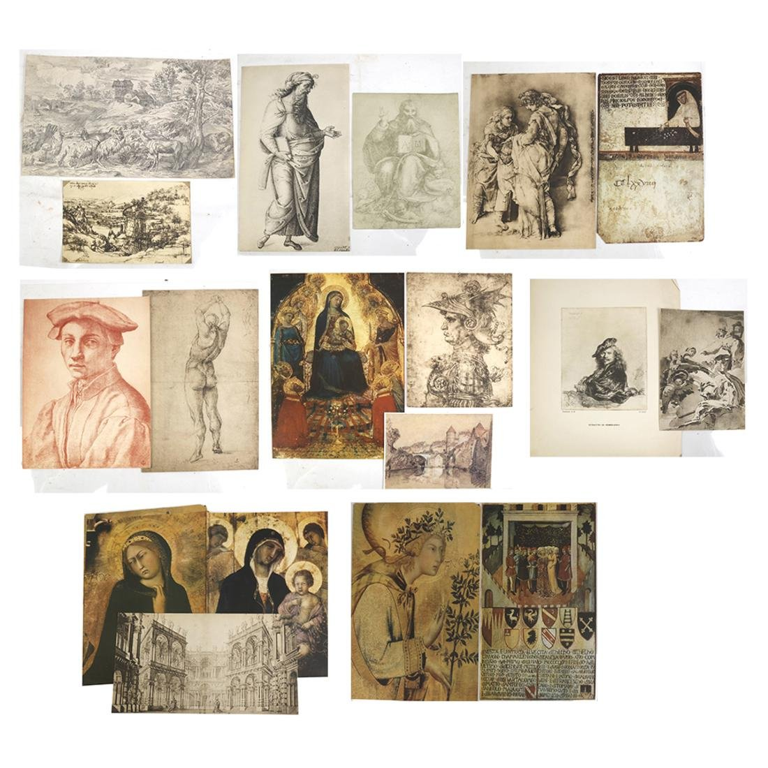 20 Old Master Reproductions of Artwork