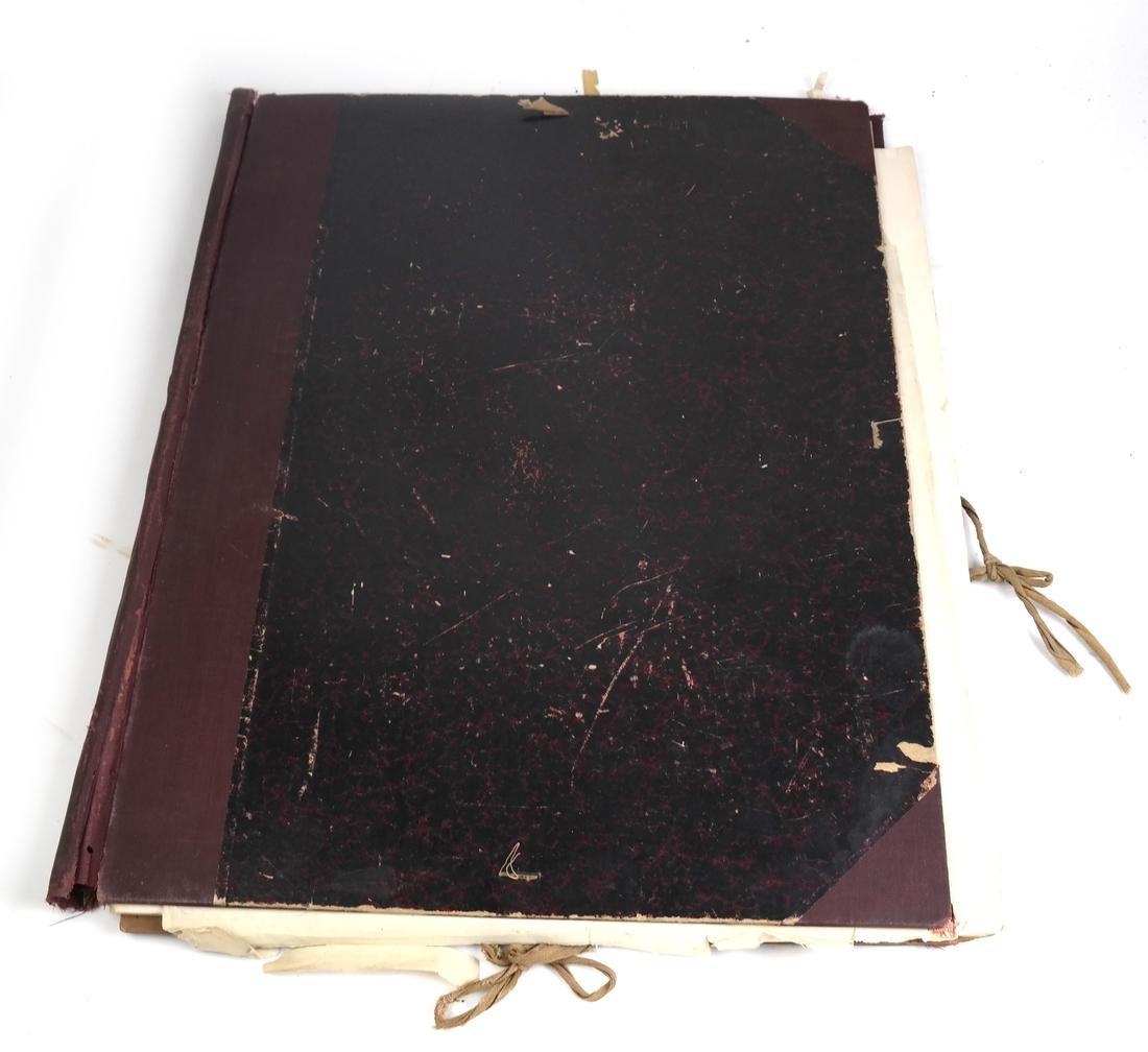 Ephemera: Folio of Maps, Antique Book Frontpieces, more