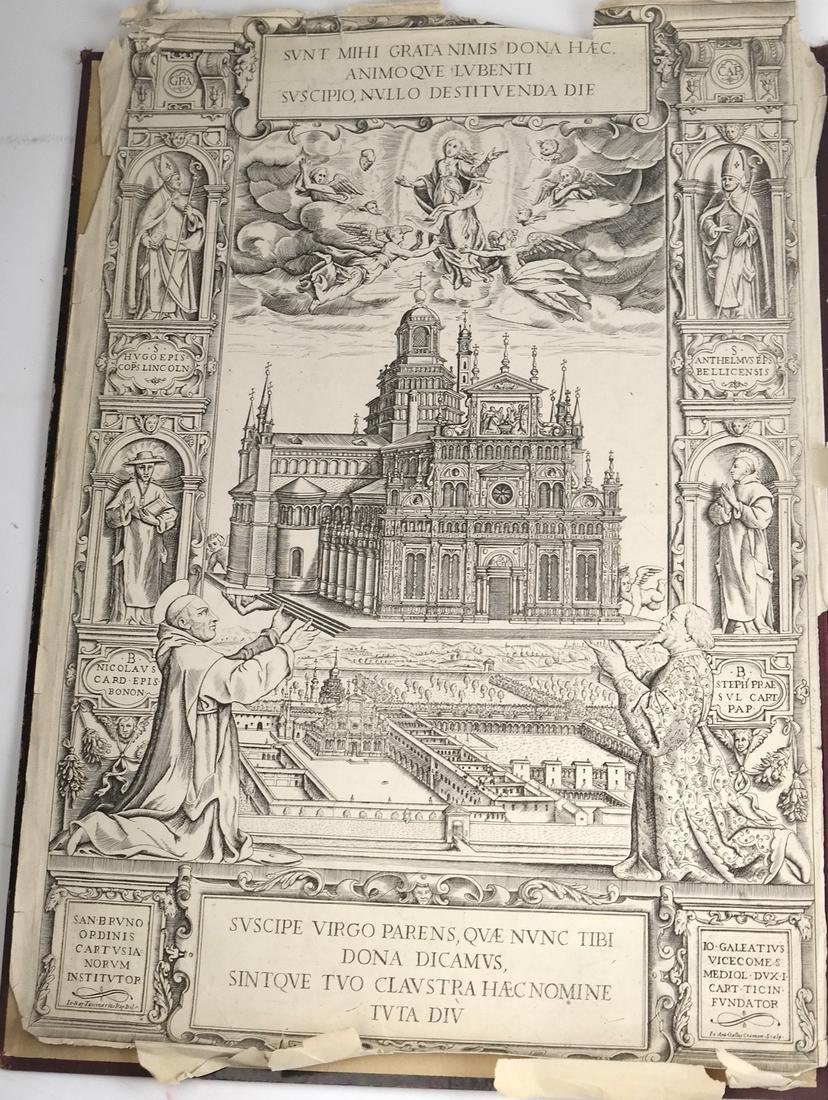 Ephemera: Folio of Maps, Antique Book Frontpieces, more - 3
