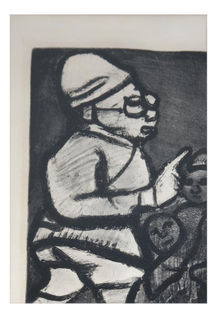 Georges Rouault Framed Lithograph