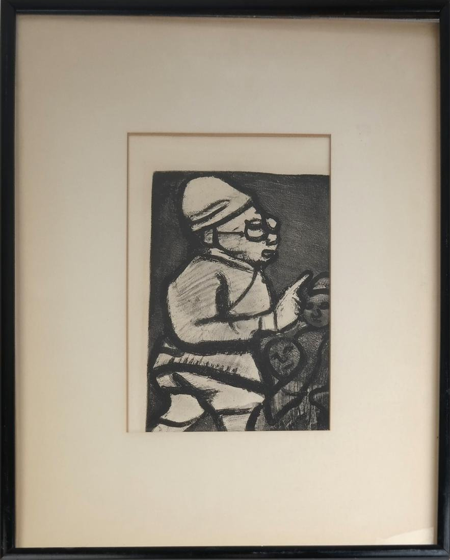 Georges Rouault Framed Lithograph - 2