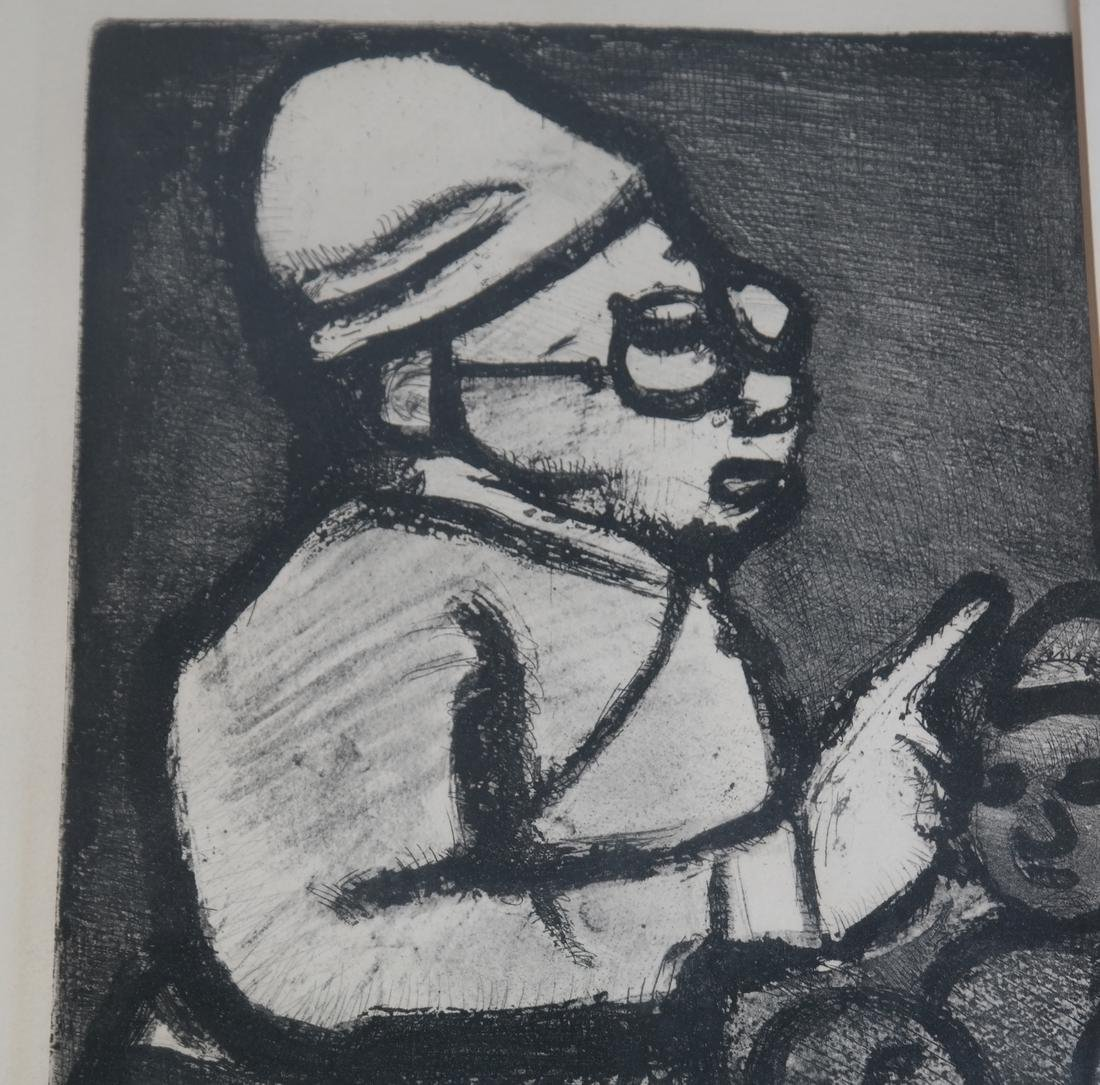 Georges Rouault Framed Lithograph - 4