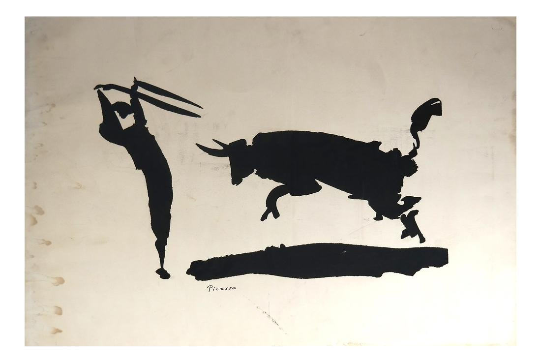 Pablo Picasso, Lithograph on Thick Wove Paper