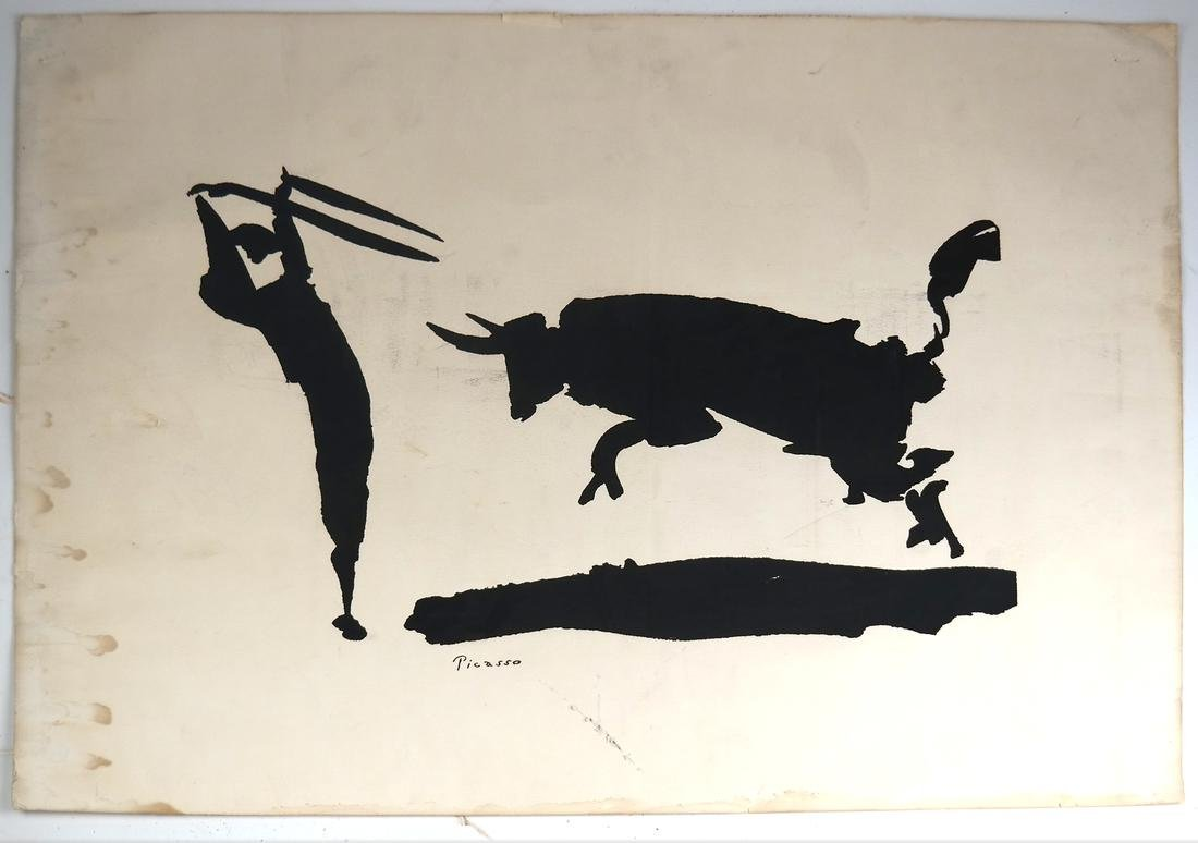 Pablo Picasso, Lithograph on Thick Wove Paper - 2