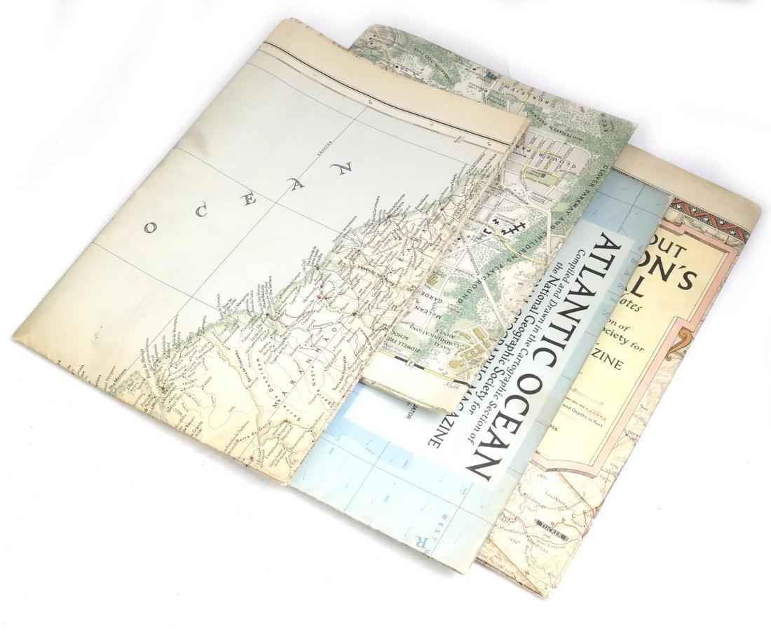 Cartography: Box Lot of Maps - 3