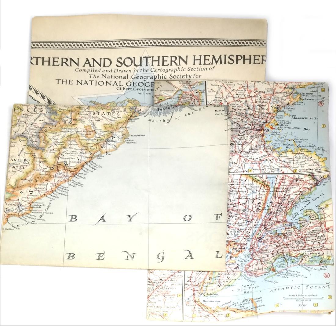 Cartography: Box Lot of Maps - 4
