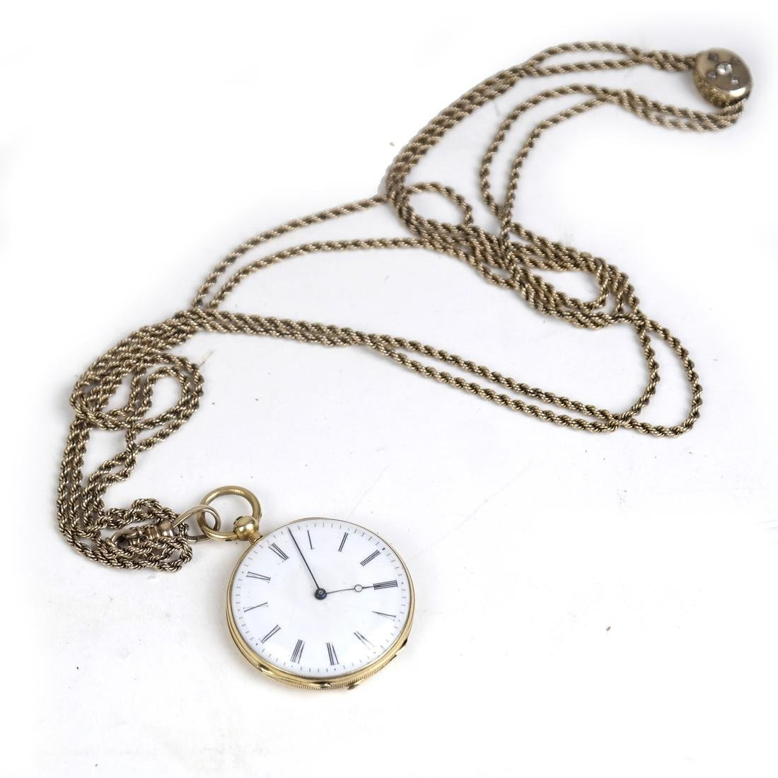 14k Yellow Gold Pocket Watch