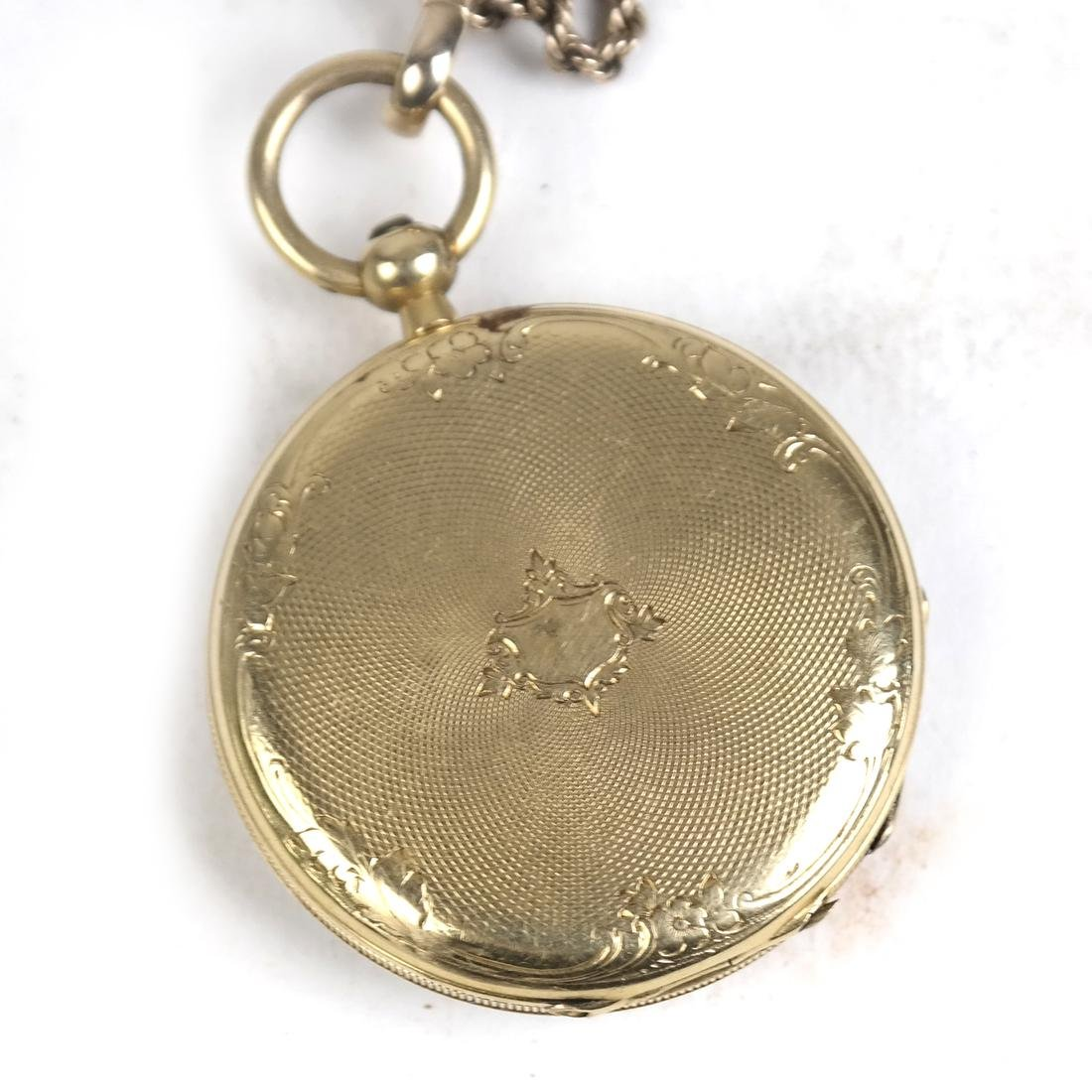 14k Yellow Gold Pocket Watch - 3