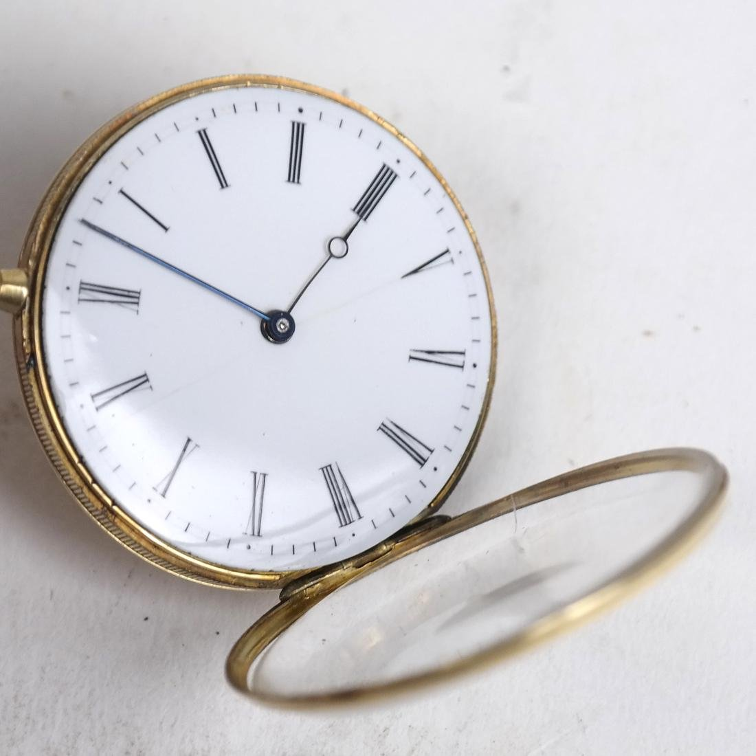 14k Yellow Gold Pocket Watch - 6